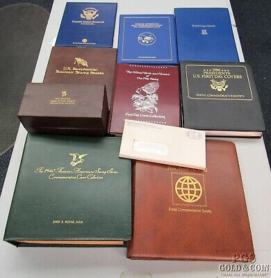 Assorted Lot of US Stamp Books 1st Day Covers Bicentennial Folio Postage 13338