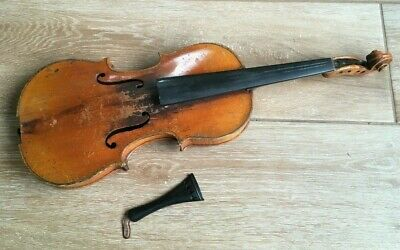1924  Antique Violin Sol E Roach Made In Windber PA made from Old Best Italian