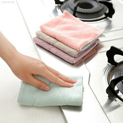 A5EF 5E58 140E Soft Dishcloth 27.5*16cm Cleaner Hotel Kitchen Double-Sided Towel