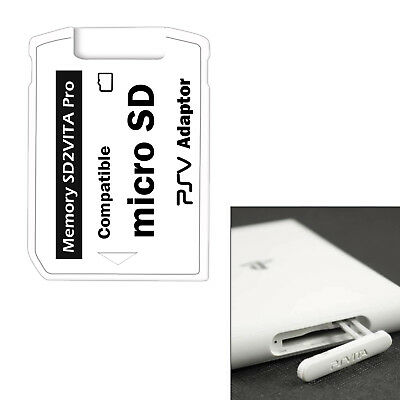 For SD2VITA PSV Micro SD Adapter 3.0 Game Memory Card Reader Easy to Install