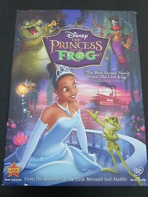 The Princess and the Frog (DVD, 2010) with slipcover