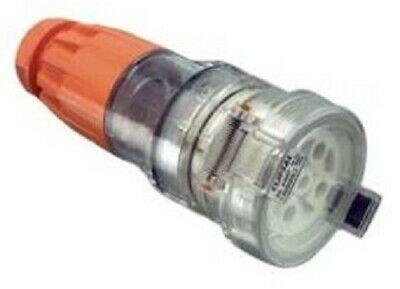 Clipsal 56-SERIES CORD EXTENSION SOCKET 500V 5-Pins Round, Orange- 40A Or 50A