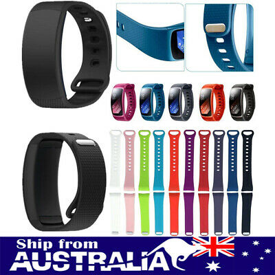 AU Replacement Silicone Wrist Band Strap For Samsung Gear Fit 2 SM-R360 Watch xi
