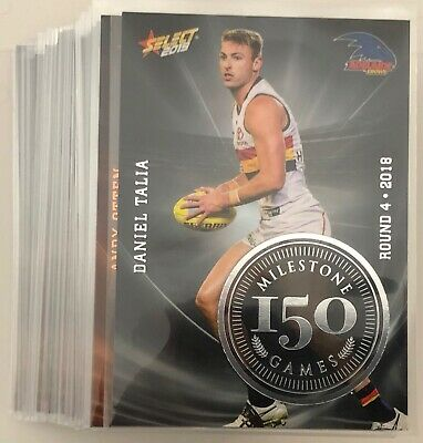 AFL Select 2019 FootyStars Milestone Cards - Bulk Listing - Pick Your Card