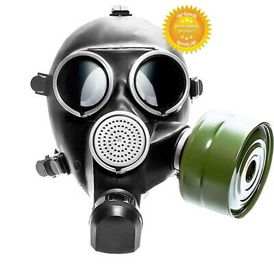 Size-2 Medium USSR Soviet Russian Military Gas mask GP - 7 New + 40 mm Filter