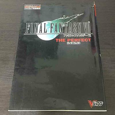 FINAL FANTASY 7 VII Official Strategy Guide Book THE PERFECT Game
