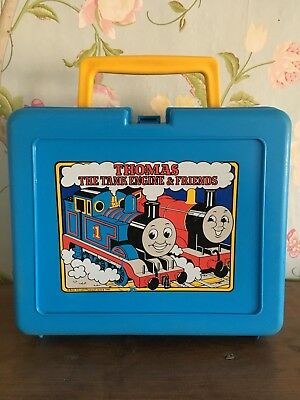 Vintage Thomas the Tank Engine Lunch Box by Bluebird, Swindon c/right 1981