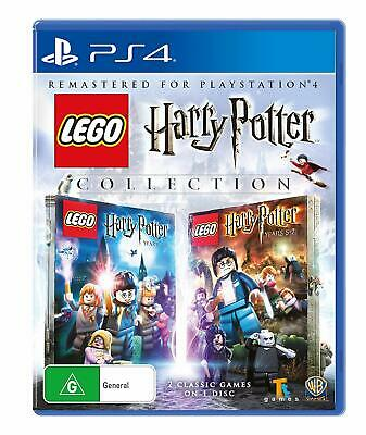 LEGO Harry Potter Years 1-7 Collection  - Sony Playstation 4 Game - NEW