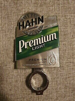Hahn Premium Light Beer Tap Decal And Mount Badge Top Handle Topper