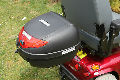 Mobility Scooter Locking Rear Shopping Detachable Secure Storage Box 24 ltr BN