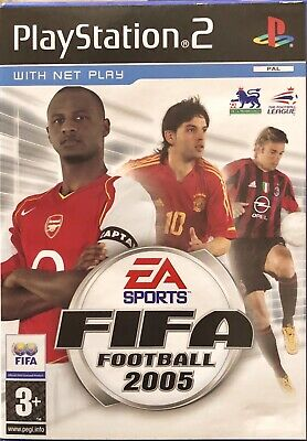 Fifa Football 2005 For Sony PlayStation 2 PS2 Supplied Complete (Free UK Post)