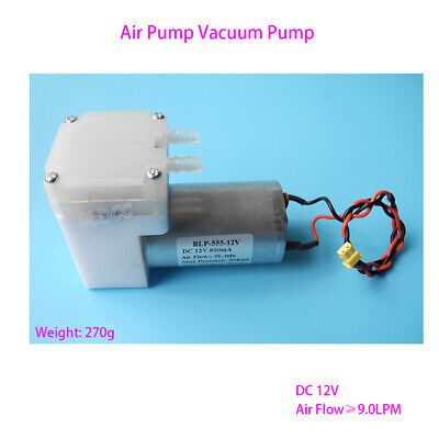 DC 12V Aquarium Air Pump Aspirator Vacuum Pump Diaphragm Pump Breast Pump DIY GT