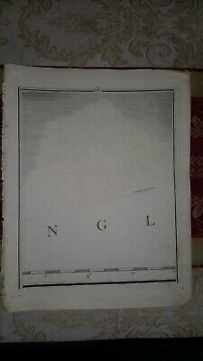 1794 - John Cary map genuine item map 4 English channel