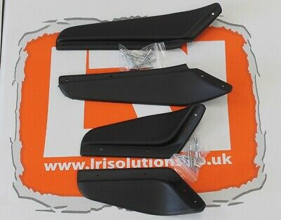 Front rear dirt d fender mud guard arch set textured Fits Land Rover Defender 90