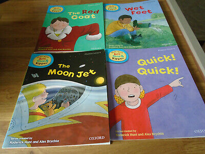 OXFORD READING TREE Biff, Chip and Kipper Level 4 Phonics Collection 4 books