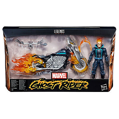 Marvel Legends Ghost Rider Ultimate Action Figure with Motorcycle Hasbro New L