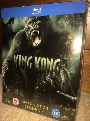 King Kong Blu Ray Steelbook New Not Sealed Zavvi Exclusive RARE OOP