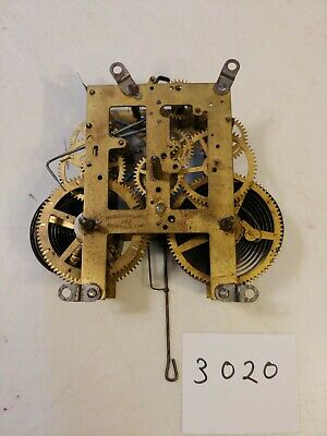 Antique Sessions Mission Wall Clock Movement