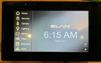 "Elan Home Systems 7"" TP7 Touch Panel"