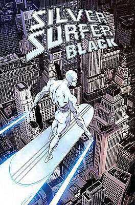 Silver Surfer Black #1 (Of 5) 1:100 Zeck Hidden Gem Variant (12/06/2019)
