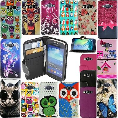 **For Samsung Galaxy A5 2017 Pu Leather Wallet Book Style Flip Secure Phone Case