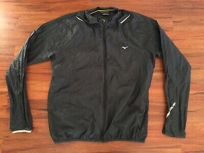 Mens MIZUNO Impermalite Running Jacket Size XL #14701