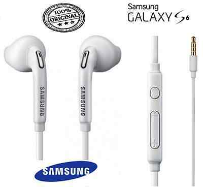 Genuine Samsung S6 edge Note 4 S5 S4 headphone earphone handsfree with mic