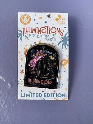 Disney World EPCOT Pin Figment Farewell Illuminations In Hand LE 2000 Passholder