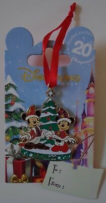 Disney DLP Noel Noël 2012 Mickey et Minnie Souris Broche