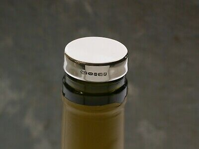 Silver Bottle Stopper (Suitable for Engraving)