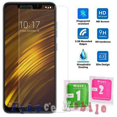 Flat Tempered Glass 2.5D 9H Screen Protector Cover for Xiaomi Pocophone F1 Film