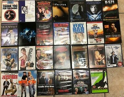 DVDs!!! COMBINED SHIPPING GREAT SELECTION POPULAR MOVIES T - Z DVD LOT