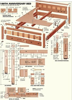 All DIY Carpentry Wood-working PDFS 3 Dvds 100'000 Plans Dovetail Jig Furniture