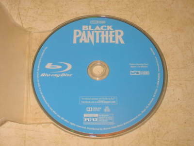 Black Panther (Blu-ray, 2018) - English/French/Spanish **DISC ONLY** **READ**