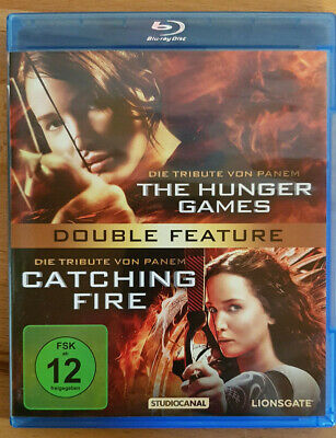 Die Tribute von Panem - The Hunger Games & Catching Fire, 2 Blu-Ray (2014)