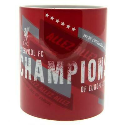 Liverpool Champions of Europe Mug. Official LFC Merchandise Cup