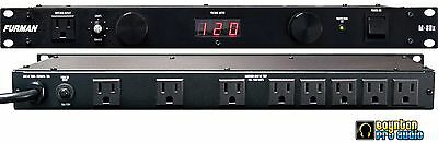 Furman M-8Dx Power Conditioner with Digital Meter M8DX *NEW* *AUTHORIZED DEALER*