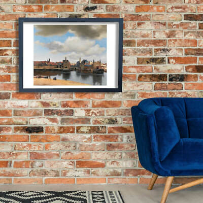 Johannes Vermeer - View of Delft Wall Art Poster Print