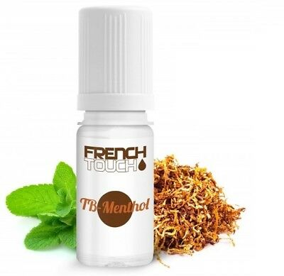E-liquide FRENCH TOUCH Saveur Tabac Menthol - 0 / 6 / 11 / 16 mg nicotine