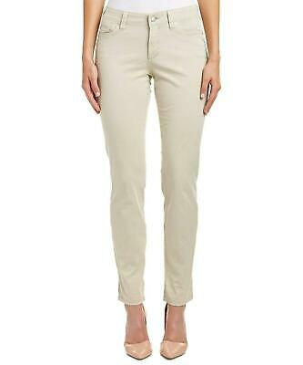 NWT NYDJ Not Your Daughters Jeans Samantha Slim Sand Dollar Women's Petite Pants