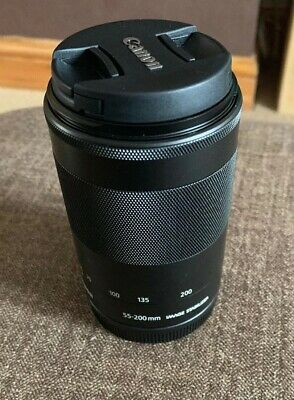 Canon Ef-m 55-200mm F4.5-6.3 Is STM Telephoto Lens for Canon EOS M Cameras