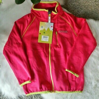 Regatta Pink Girls Coat Size UK AGE 5/6 Brand New With Tags