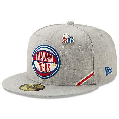 quality design 9a995 1f399 Philadelphia 76ers New Era 2019 NBA Draft 59FIFTY Fitted Hat - Heather
