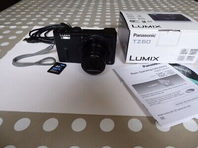 Panasonic LUMIX DMC-TZ60 18.1MP Digital Camera - Black