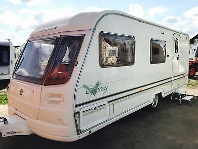 Avondale Osprey 2004 4 Berth Touring Caravan With Awning & Accessories