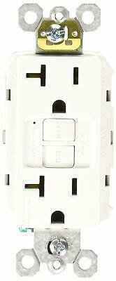 Legrand - Pass & Seymour radiant 2097WCCD12 20 Amp Self-Test GFCI Safety Outlet,