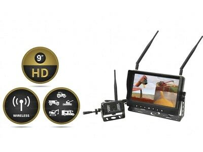 "9"" Wireless Digital Reversing Camera System with LCD Monitor & 1 Camera"