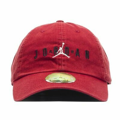 sale retailer fd254 1d4bd Nike Unisex Air Jordan HERITAGE 86 JUMPMAN AIR Adjustable Hat Gym Red AA1306 -687