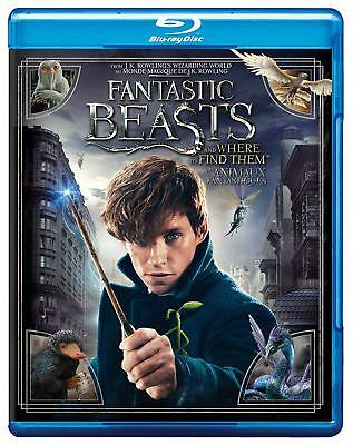 Fantastic Beasts and Where To Find Them Blu-Ray, NEW, SEALED Harry Potter