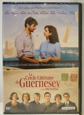 film Dvd LE CERCLE LITTERAIRE DE GUERNESEY neuf 10/2018 Lily James Mike Newell
